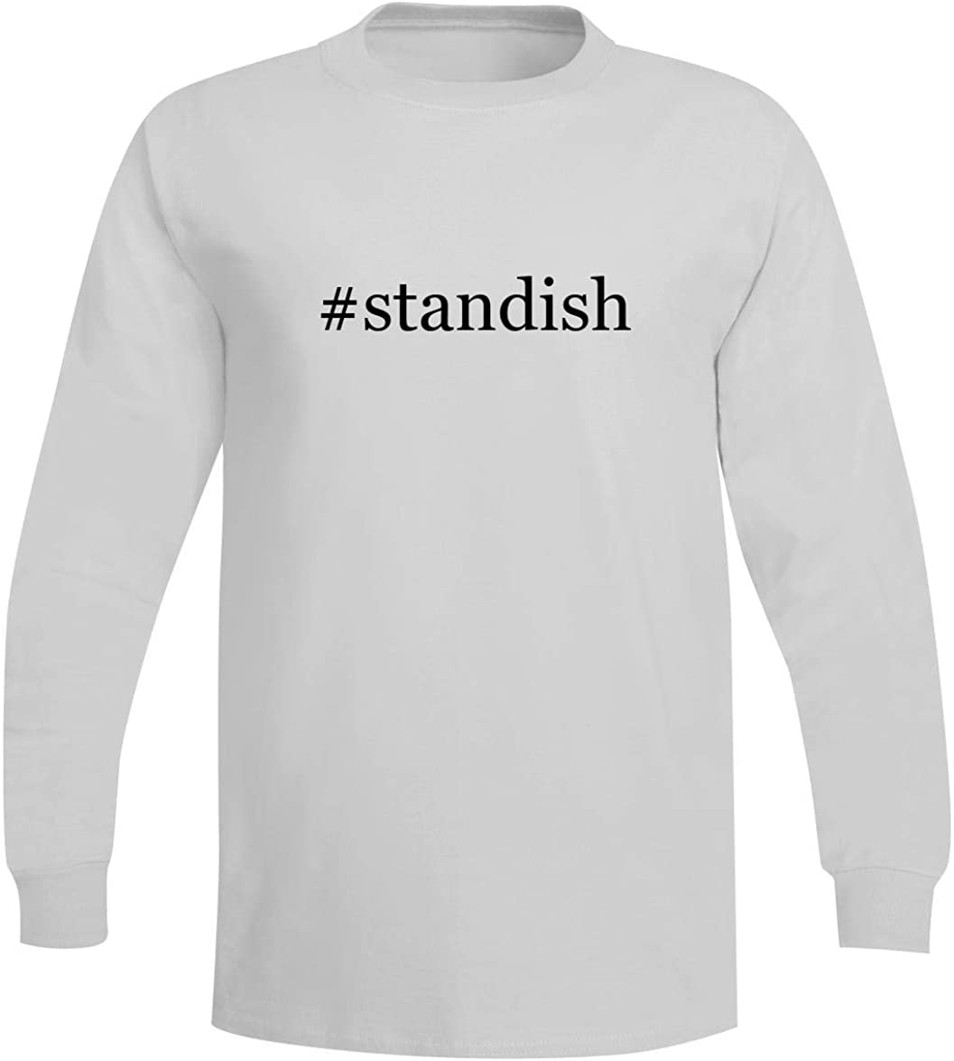 The Town Butler #Standish - A Soft & Comfortable Hashtag Men's Long Sleeve T-Shirt