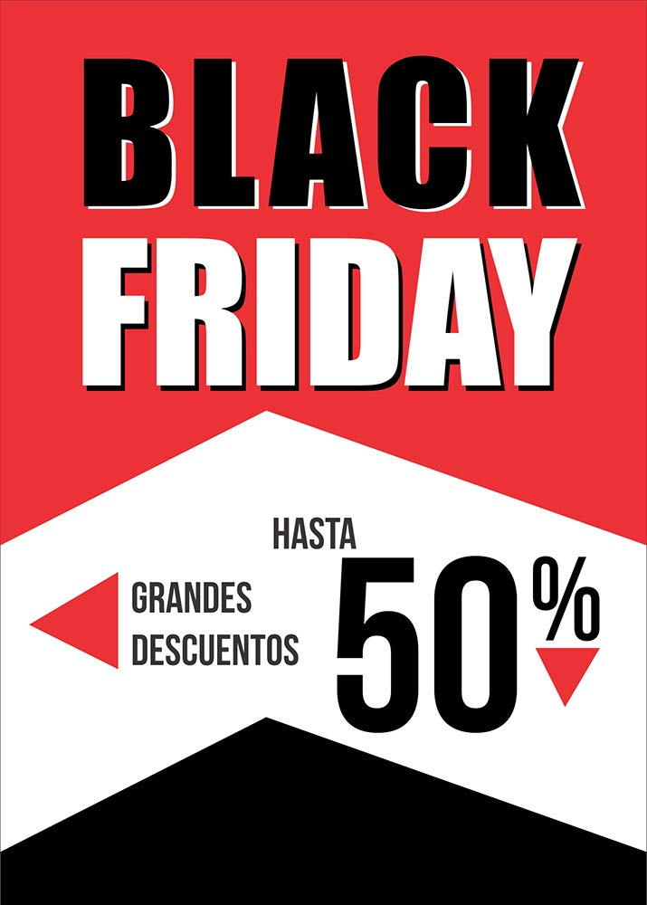 Desconocido Cartel para el Black Friday de Papel póster ...