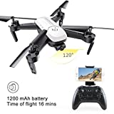 Dirance SMRC S8 RC Quadcopter Drone, 1200mAh 2.4GHZ 4CH 6-Axis Gyro Helicopter, Headless Mode & Attitude Hold & 3D Flips (White)