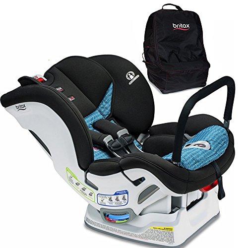 Britax Marathon ClickTight ARB Convertible Car Seat, Oasis with Car Seat Travel Bag Set