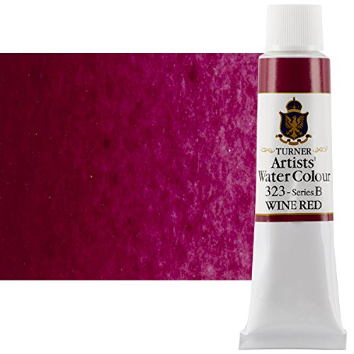 Artist Wine - Turner Concentrated Professional Artists' Watercolor Paint 15ml Tube - Wine Red