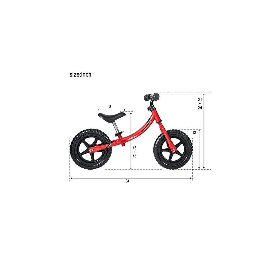 Merax.12 inch Sport Balance Bike for Kids