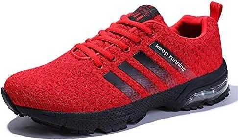 LZLHYH Zapatillas De Correr para Hombre Zapatillas De Deporte Que Absorben El Impacto Caminar Calzado Deportivo Zapatillas Deportivas Zapatillas con Cordones Calzado Cómodo Tamaño Grande,Rojo,48: Amazon.es: Deportes y aire libre