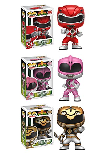 Funko TV Power Rangers Pop Collectors Set (Pink Ranger Funko Pop compare prices)