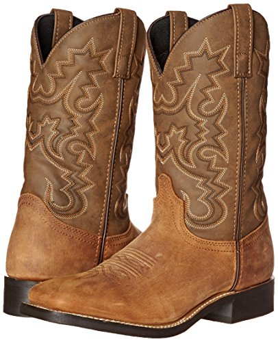 Pictures of Laredo Men's Chanute Western Boot Tan 8 XW US 4