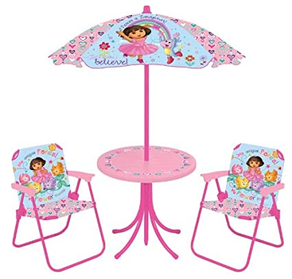 Nickelodeon Dora The Explorer Patio Set  sc 1 st  Amazon.com & Amazon.com: Nickelodeon Dora The Explorer Patio Set: Toys u0026 Games
