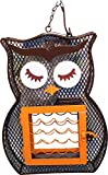 Cheap Dual Suet/Seed Feedr Owl
