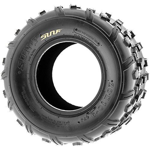 Set of 2 SunF 20x10-9 20x10x9 ATV UTV Knobby Rear Tire 4 Ply A022 by SunF (Image #3)