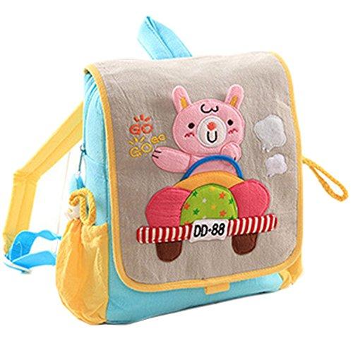 Infant Knapsack Baby Children Backpack Prevent From Getting Lost Grey