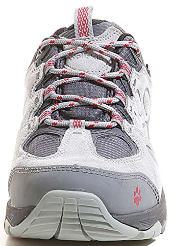 Jack Wolfskin Damen MTN Attack 5 Texapore Low W Trekking-& Wanderhalbschuhe Grau (Indian Red)