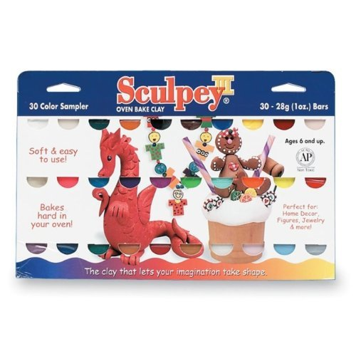 Sculpey III 30-Piece Sampler Pack