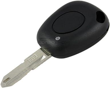 1 bouton clé télécommande de remplacement boîtier pour renault espace laguna megane