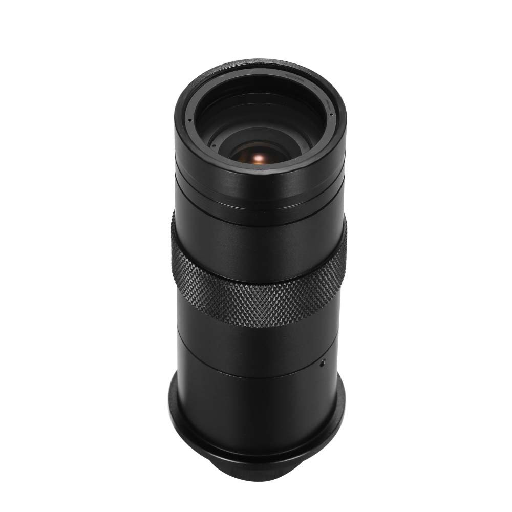 Microscope Lens, Walmeck CCD Industry 8X-100X Microscope Camera Lens C Mount Adjustable Eyepiece Magnifier Industrial Lens for LAB PCB F3.0 by Walmeck
