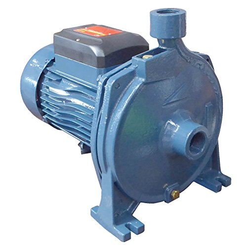 Super Duty Dual Voltage 3HP Centrifugal Pump With High Velocity Output Over 100 GPM