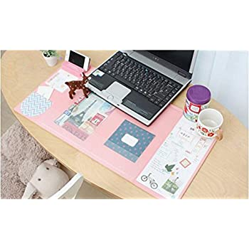 Marvelous Large Size Mouse Pad Anti Slip Desk Mouse Mat Waterproof Desk Protector Mat  With Smartphone