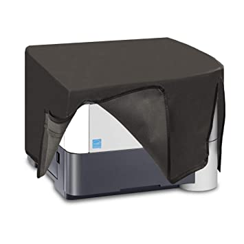 kwmobile Funda para Kyocera Ecosys P3050dn / P3055dn - Cubierta Protectora Antipolvo de Impresora - Forro Protector Gris Oscuro