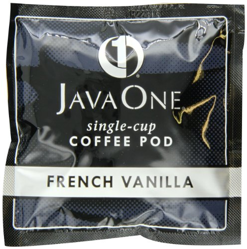 Java One French Vanilla Coffee, 14-Count Pods (Pack of 6)
