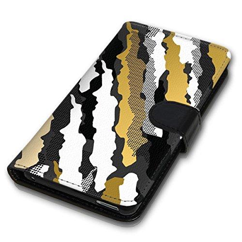 Wallet Book Style Flip Handy Tasche Case Schutz Hülle Schale Motiv Etui für Apple iPhone 6 Plus / 6S Plus - Design Flip MVD145