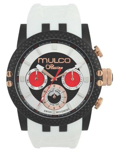 MULCO Unisex MW3-11169-015 Lincoln Illusion Chronograph Analog Swiss Movement Watch