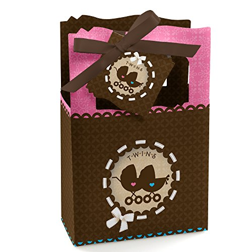 Baby Shower Pram Favor Boxes - 3