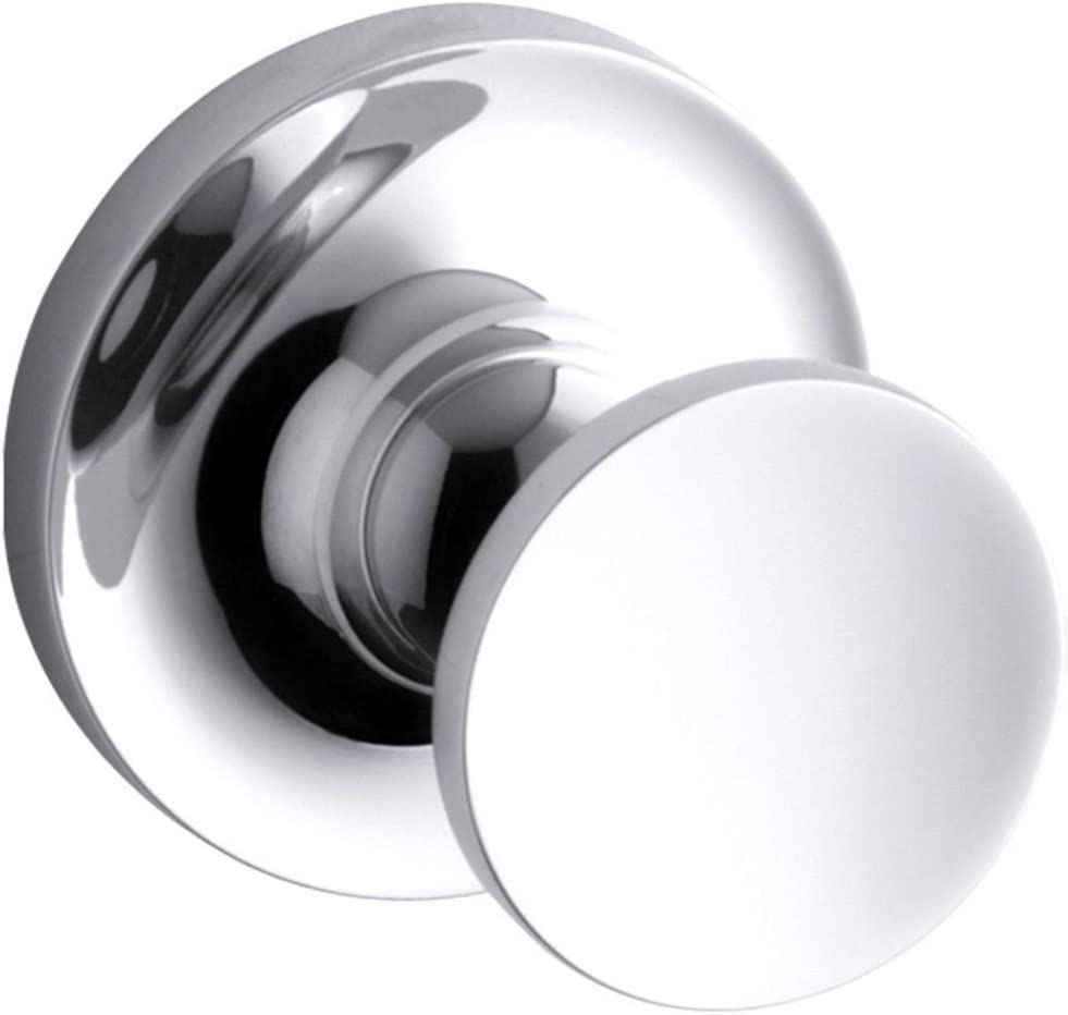 KOHLER K-14443-CP Purist Robe Hook, Polished Chrome - -