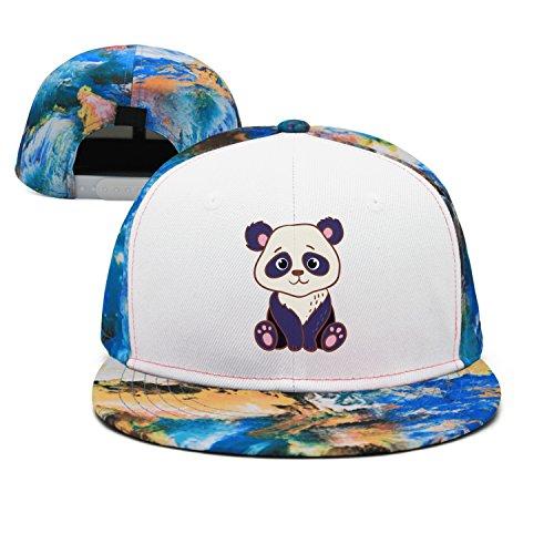 srygjukuu Pattern Cute Panda Baseball Hat Adjustable New Cap (Tyrone Ray)