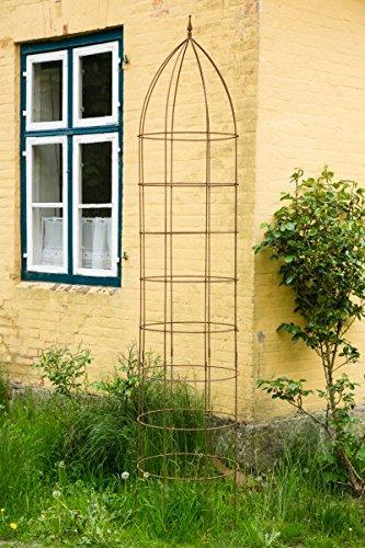 Rankgerüst Rankhilfe Jumbo Obelisk Ø: 60cm Rost H: 300cm