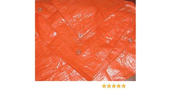 12x20 12/'x20/' HARPSTER TARPS O12x20 High Visibility Orange Tarp 3.3 OZ.