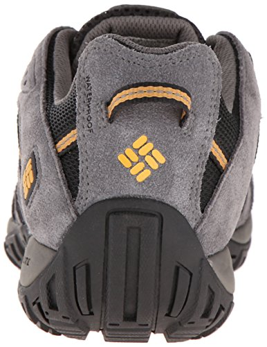 Columbia Men's Redmond Waterproof Hiking Shoe Black, Squash 7.5 D US by Columbia (Image #2)