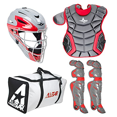 All-Star System 7 Inter. Two-Tone Catcher's Set (Ages 12-16) by All-Star