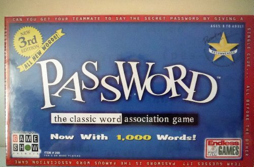 PASSWORD 3rd Edition by Endless Games
