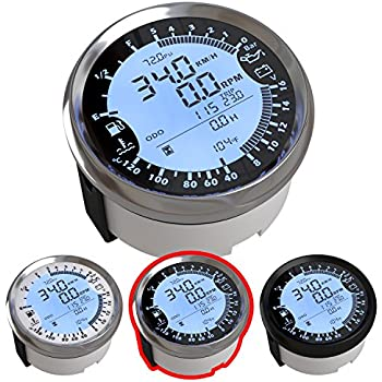 Amazon com: AndyTach 3-3/8'' ATACH DIGITAL GPS speedometer