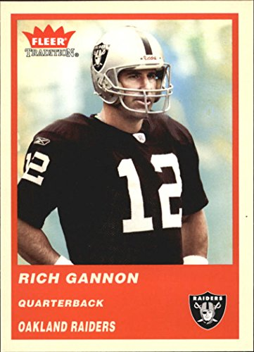 2004 Fleer Tradition #55 Rich Gannon NFL Football Trading Card from Fleer Tradition