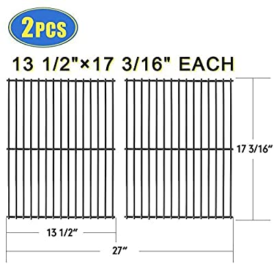 "X Home Grill Grate 17 3/16"" Grill Replacement Parts 17 inch Cooking Grid for Grill Master 720-0697"