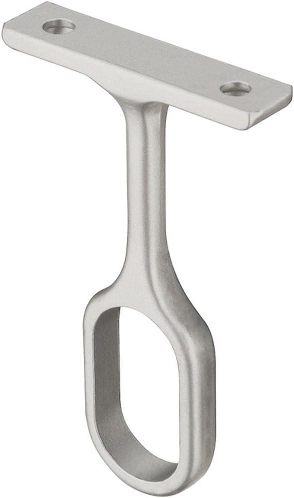 Modell H3032 1 St/ück Gedotec Schrankrohrlager Mitteltr/äger-Halterung f/ür Kleiderstange OVAL M/öbelrohr Schrankrohrhalter f/ür Ovalstange 30 x 15 mm Metall silber eloxiert
