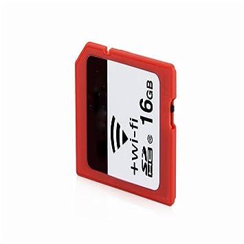 Xiangjun Wireless WiFi tarjeta SD Tarjeta de memoria Tarjeta ...
