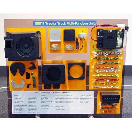Tamiya America, Inc 1/14 Semi Truck Multi Function Unit, TAM56511 (Tamiya Trucks)