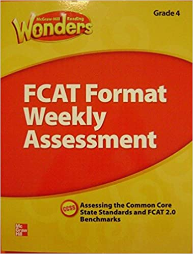 Mcgraw hill reading wonders fcat format weekly assessment grade 3 mcgraw hill reading wonders fcat format weekly assessment grade 3 mcgraw hill 9780021275267 amazon books fandeluxe Choice Image