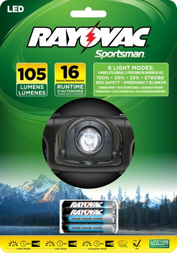 Rayovac Sportsman Xtreme LED Headlight