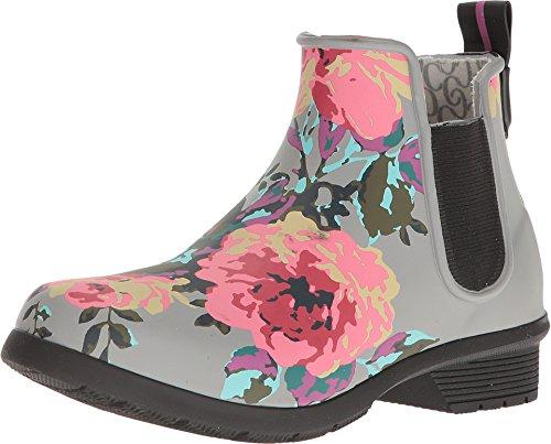 Chooka Women's Classic Chelsea Alice Gray Matte Boot