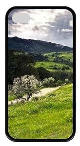 Hillside TPU Black Case for iphone 4S/4