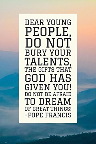 Gifts Delight LAMINATED 24x36 Poster: A great motivational e from Pope Francis. Catholic CatholicChurch Catholic es by Gifts Delight