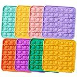 MATICAN Push Pop Fidget Toy, 8-Pack Push Pop Bubble