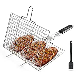 Amazon.com: WolfWise - Cesta de barbacoa portátil (169.3 in ...