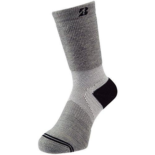 ブリヂストン BRIDGESTONE GOLF 靴下 ウィンター アンクルホールド ハイパーソックス SOWG63 グレー フリー