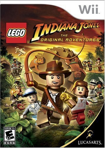 Lego Indiana Jones: The Original Adventures - Nintendo Wii by LucasArts