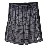 adidas Performance Men's Climacore Print Shorts, Small, Dark Grey Heather/Black/Black