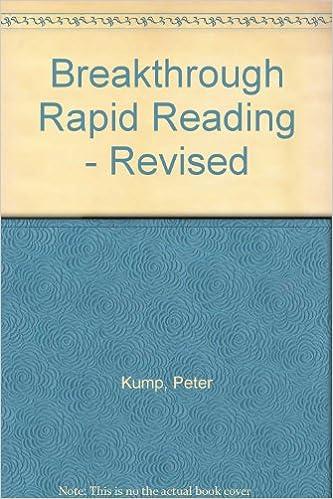 Breakthrough Rapid Reading by Peter Kump (ebook)