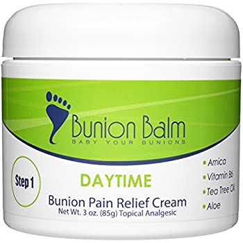 Bunion Balm Daytime. Natural Bunion Pain Relief Cream with Arnica (Step 1 of 2