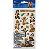 Disney Classic Flat Stickers, Chip N Dale